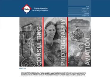 Sheba Consulting & Aviation Services - webTorch Portfolio