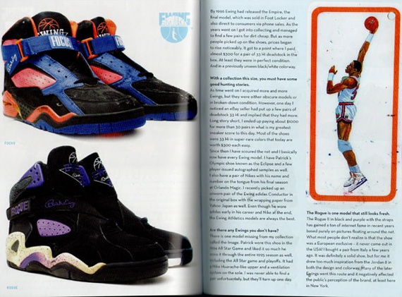 Ewing Collection Feature in Sneaker Freaker 24 - SneakerNews.com