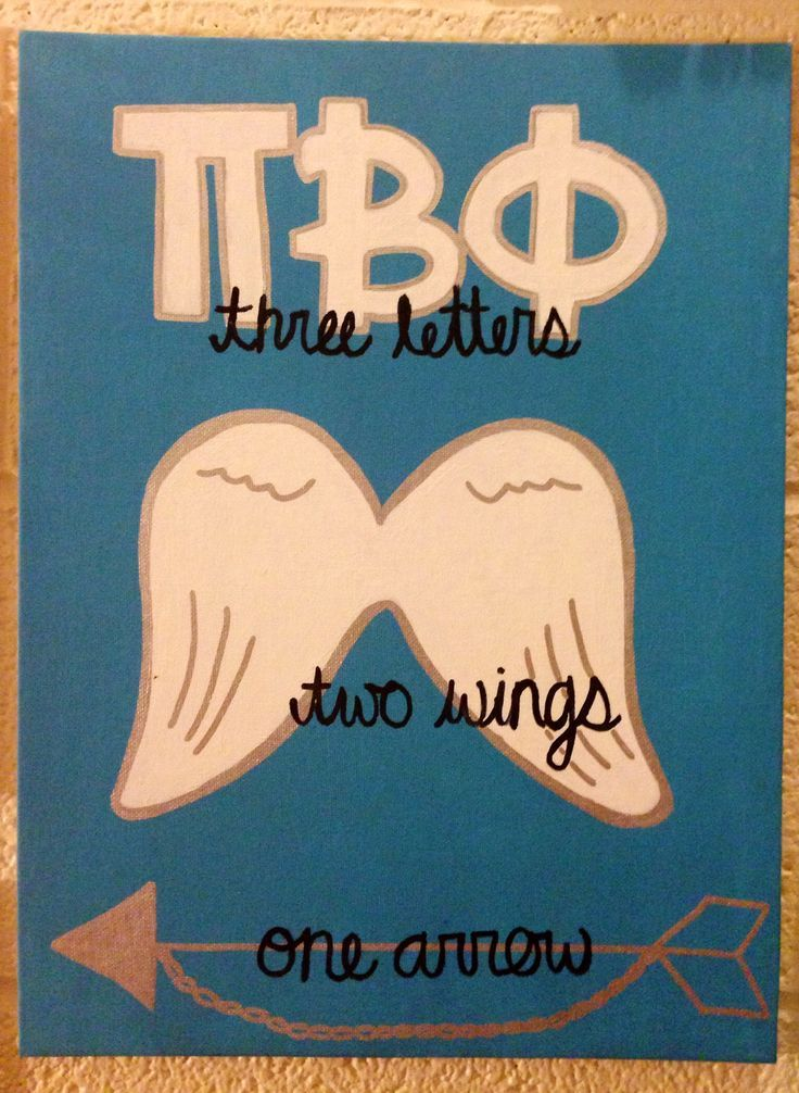 Pi Beta Phi craft based off of my original pin: http://www.pinterest.com/pin/237424211577287768/  #piphi #pibetaphi
