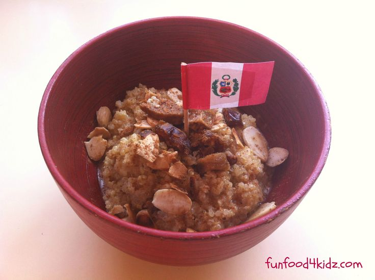 Around the World in 18 Breakfasts, Week 14: Peru - Quinoa porridge
