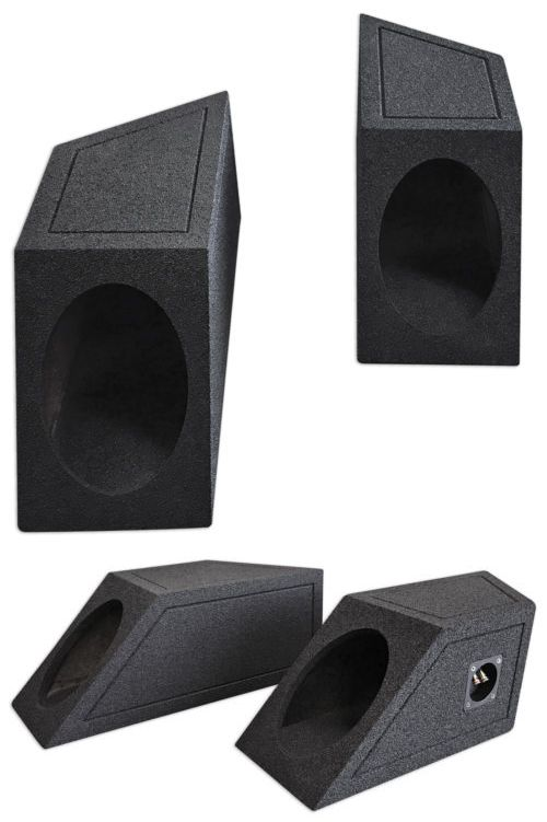 Other Car Audio: 87-95 Jeep Wrangler Yj 6X9 Speaker Box Enclosures 4 Rear Wheel Well W/Bedliner -> BUY IT NOW ONLY: $64.99 on eBay!