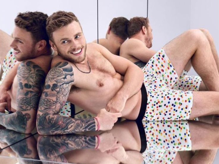 May 27, 2017 - Pride.com - Kenworthy, other public figures strip down to support LA LGBTQ Center
