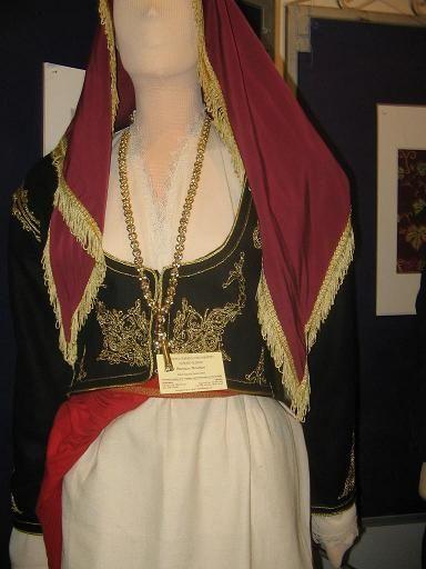 Cretan woman's costume
