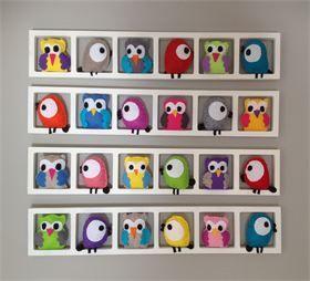 Bichat & Friends   - Decoration chambre enfant