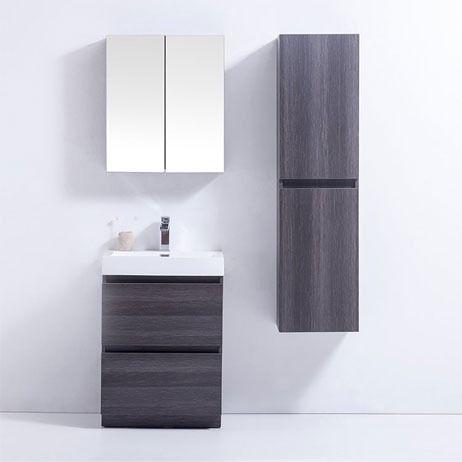 102 best a beautiful bathroom images on pinterest - Bathroom vanity storage solutions ...