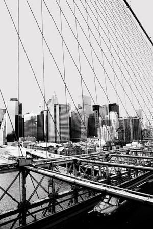 New York, vue du pont de Brooklyn. Par Maude Chauvin.