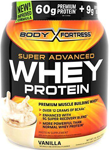 Body Fortress Super Advanced Whey Protein Powder, Vanilla, 2 Pound - http://fitness-super-market.com/?product=body-fortress-super-advanced-whey-protein-powder-vanilla-2-pound