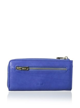 48% OFF co-lab by Christopher Kon Women's Pocket Wallet, Blue