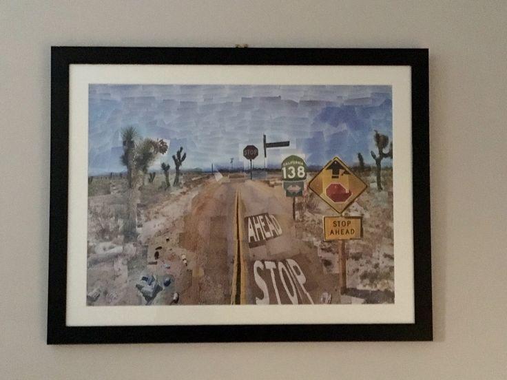David Hockney's Pearblossom Highway #art  http://youtu.be/sD123svCFHQ