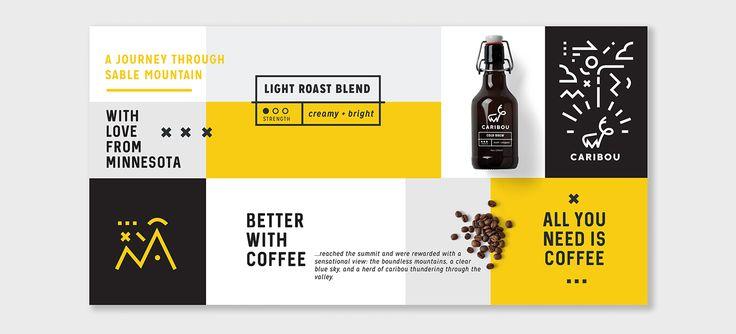 Caribou Coffee: Rebrand on Behance