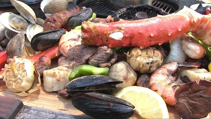 Steak and Seafood Surf & Turf by the BBQ Pit Boys (+playlist)