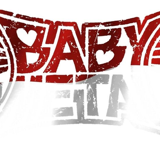 #Indonesia Flag Baby Metal Logo T Shirts, Stickers and Other Gifts #BABYMETAL