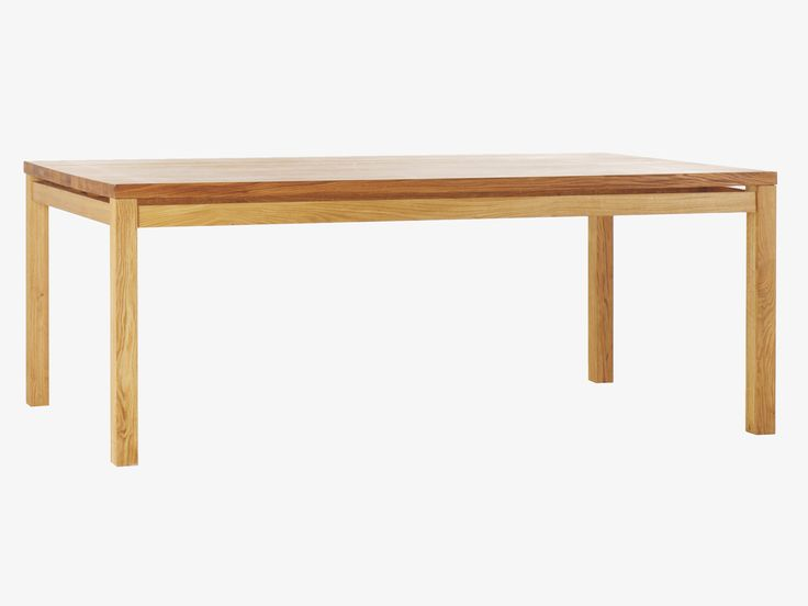 MASSELLO NATURAL Wood Large oak dining table - HabitatUK  Solid, chunky Massello large oak dining table with a rich oiled finish, giving a warm golden hue.