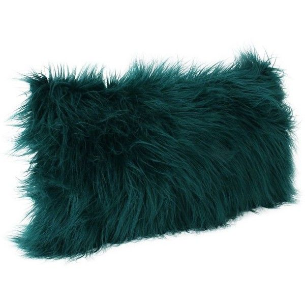 Deep Teal Keller Faux Fur Accent Pillow ($30) ❤ liked on Polyvore featuring home, home decor, throw pillows, faux fur throw pillow, teal throw pillows, teal home accessories, teal blue throw pillows and teal toss pillows