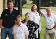 Tyrrell Family 4th Generation.  English immigrant Edward Tyrrell established Tyrrell's Wines in 1858 in the lee of the Hunter Valley's Brokenback Range, New South Wales. This land has become recognised as home to some of the Hunter Valley region's finest vineyards, and the basis for development of one of Australia's most successful privately owned wine companies.