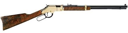 I love my Henry Golden Boy for many reasons, one it was a gift from my Ma & Pa, it is also fun to shoot!!! And the lever action is just plan-ol awesome. But it was also made right here in the good old USA!!!