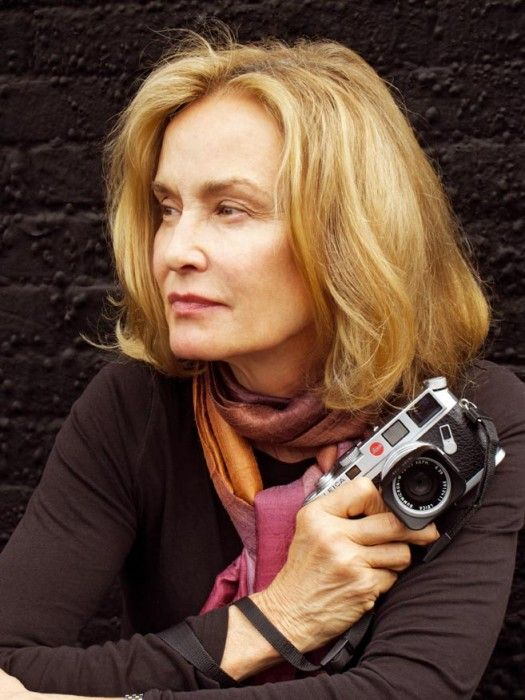 Jessica Lange and photography