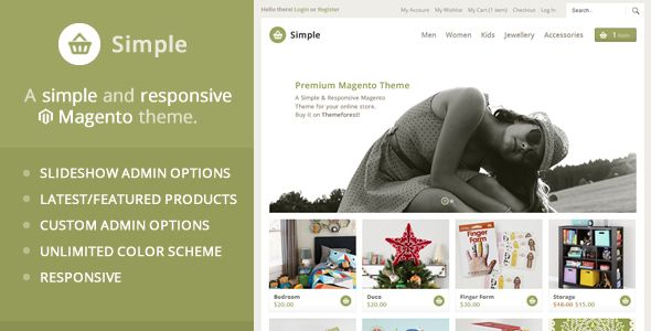 See More Simple - Responsive Magento Themewe are given they also recommend where is the best to buy