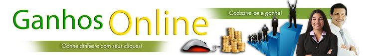 CADASTRE GRATIS E GANHE COM SEUS CLIQUES http://ganhosonline.net/register.php?r=suzy2014