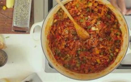 Chakalaka Recipe by Siba Mtongana (spiced carrot, veggie and bean side dish)