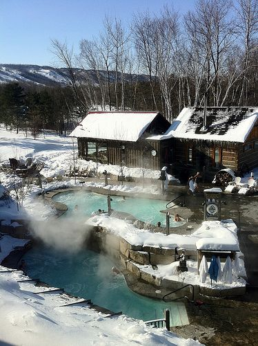 Nordic Spa and Finnish Sauna | Scandinave Spa Blue Mountain