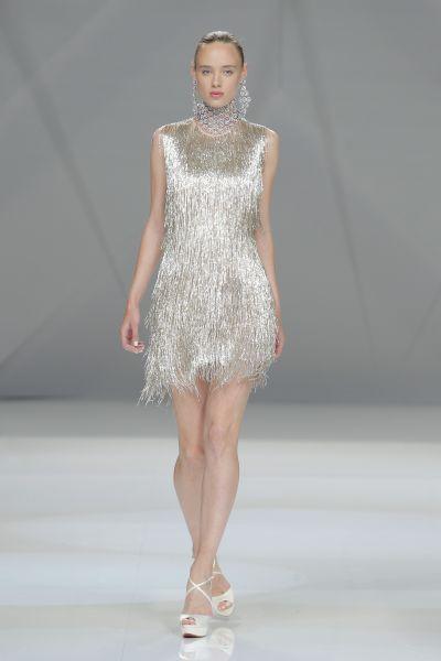 Vestidos de novia cortos 2017: ¡45 diseños encantadores! Image: 37