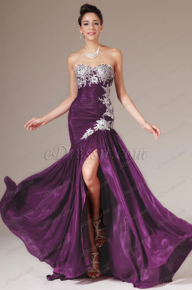 360 best vestidos de fiesta largos images on Pinterest | Long party ...