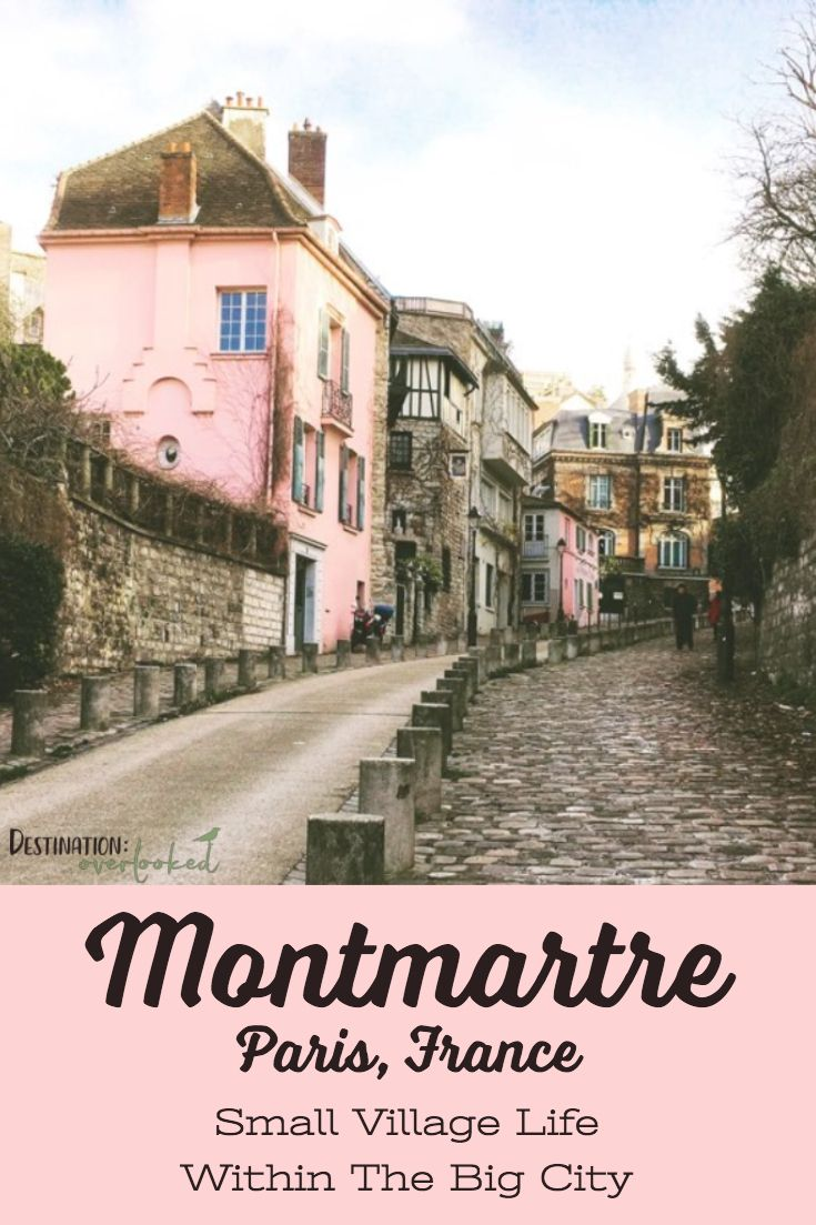 Montmartre in Winter: Small Village Life Within The Big City