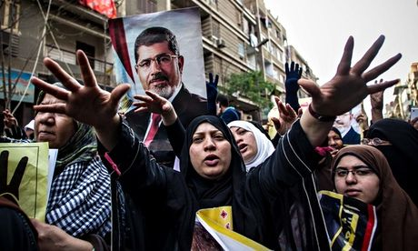 Mohamed Morsi calls protests 'useless' and says next president could face coup - THE GUARDIAN #Morsi, #Protests, #Egypt