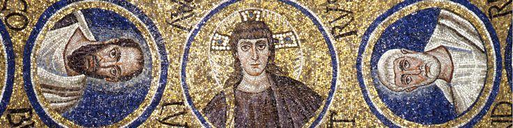 Cappella del Palazzo Arcivescovile, Ravenna. Mosaici della fine del V - inizio del VI secolo. Periodo teodoriciano