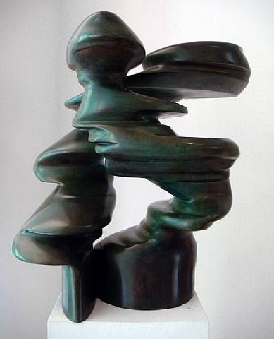 "Tony CraggHis current exhibition – on display until January 12th – presents two broad bodies of work: Early Forms – in which vessels twist on and around themselves to create paradoxes of containment – and Rational Beings – inspired by human profiles, they represent wild improvisations on natural process and the forms they give rise to, ""wild"" to the point that the source of inspiration is sometimes far from obvious."