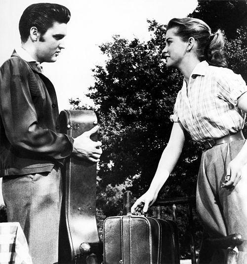 Elvis Presley #Dolores Hart #Loving You #1957