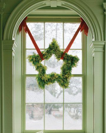 Star-Shaped Wreath