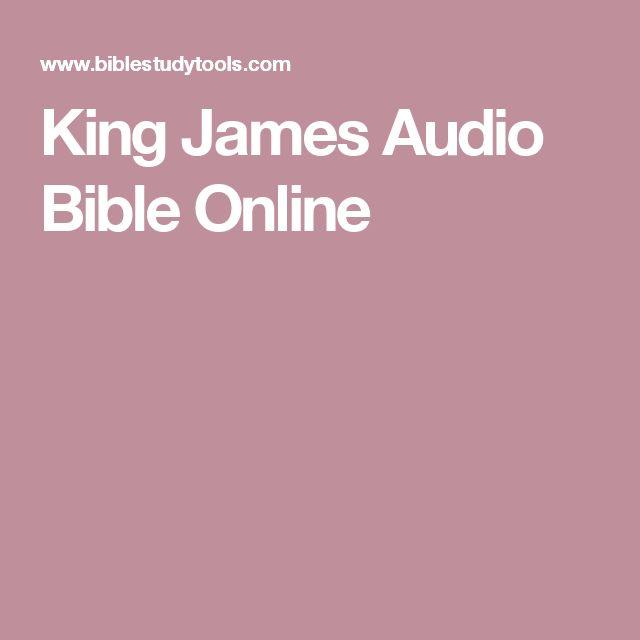 King James Audio Bible Online