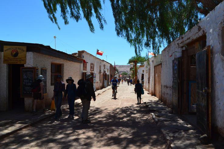 centro cidade san pedro de atacama, chile, dicas de viagem, turismo chile
