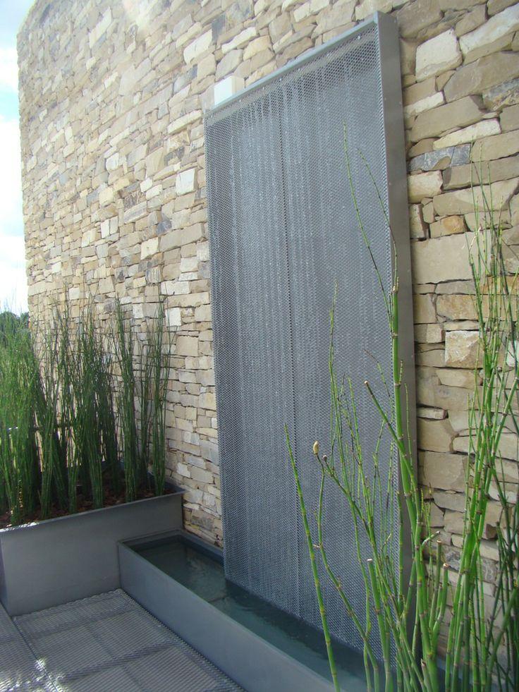 Las 25 mejores ideas sobre fuentes de agua al aire libre - Fuentes de pared modernas ...