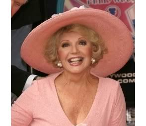 Ruta Lee -- Ruta always broadcast happy across her face -- she didn't even need to open her mouth to make me smile -- she was a forever fixture in Hollywood in 50s, 60s and on into the 70s goofy sit coms (Love American Style, Love Boat, Fantasy Island) and those 70s quiz shows. She was sooo Hollywood, she even graduated from Hollywood High! Ruta is still with us at age 77.
