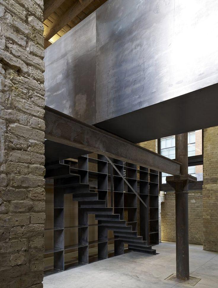 Golden Lane , London, 2012 - Amin Taha Architects - staircase
