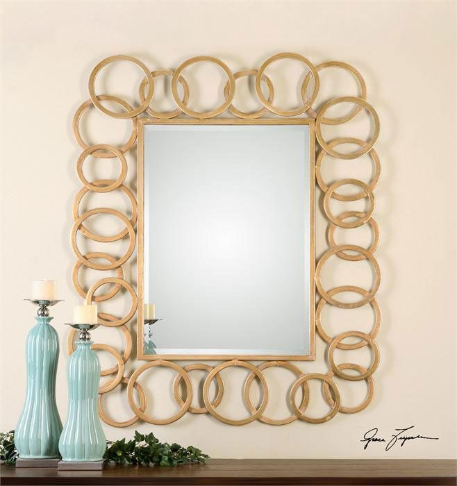 Lovely South Shore Decorating: Uttermost 07069 Amena Transitional Rectangular  Mirror UM Design Ideas