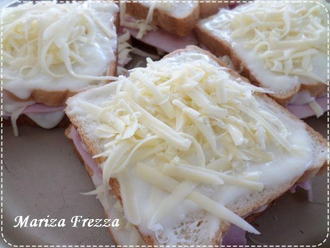 Croque Monsier, de Mariza Frezza - Espaço das delícias culinárias