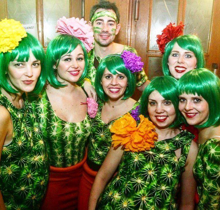 Inspiration, alles Zubehör und eine Make-up-Anleitung, um Ihren Kaktus …   – Fasching