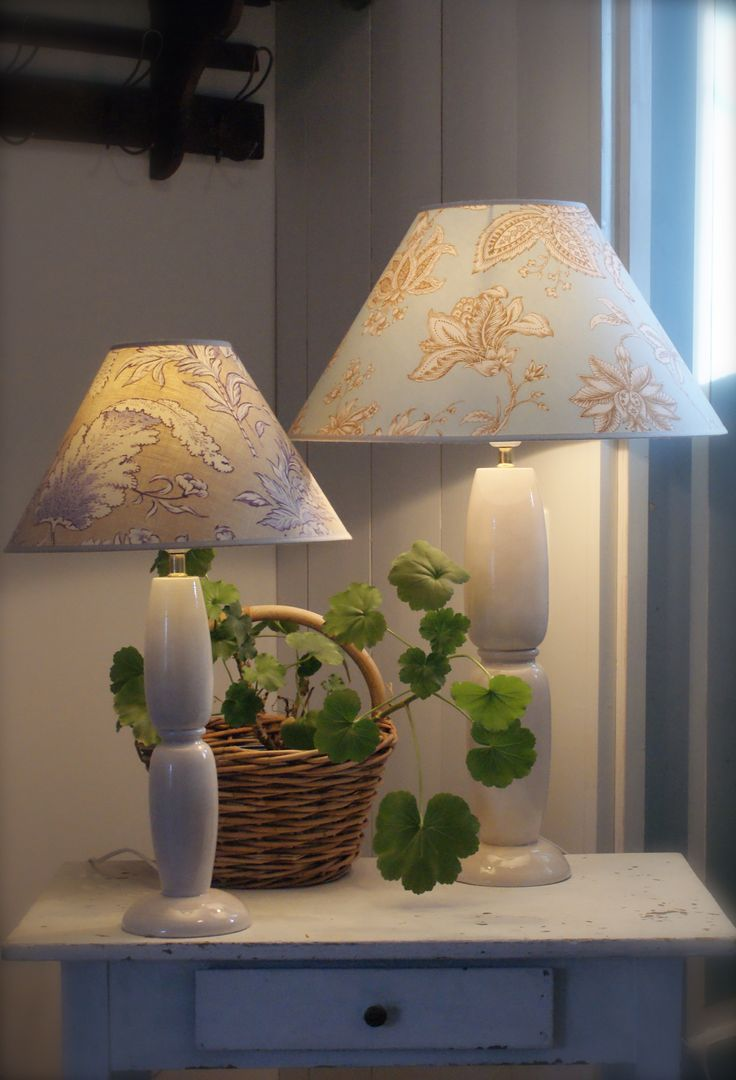 Simple hand made lamps