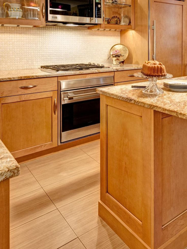 Kitchen gets artsy contemporary makeover small galley for Artsy kitchen ideas