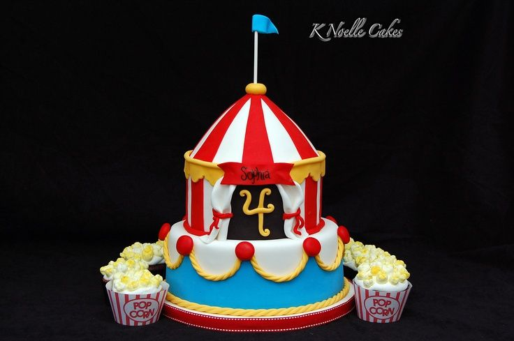 circus theme cakes | Circus theme cake | Birthdays