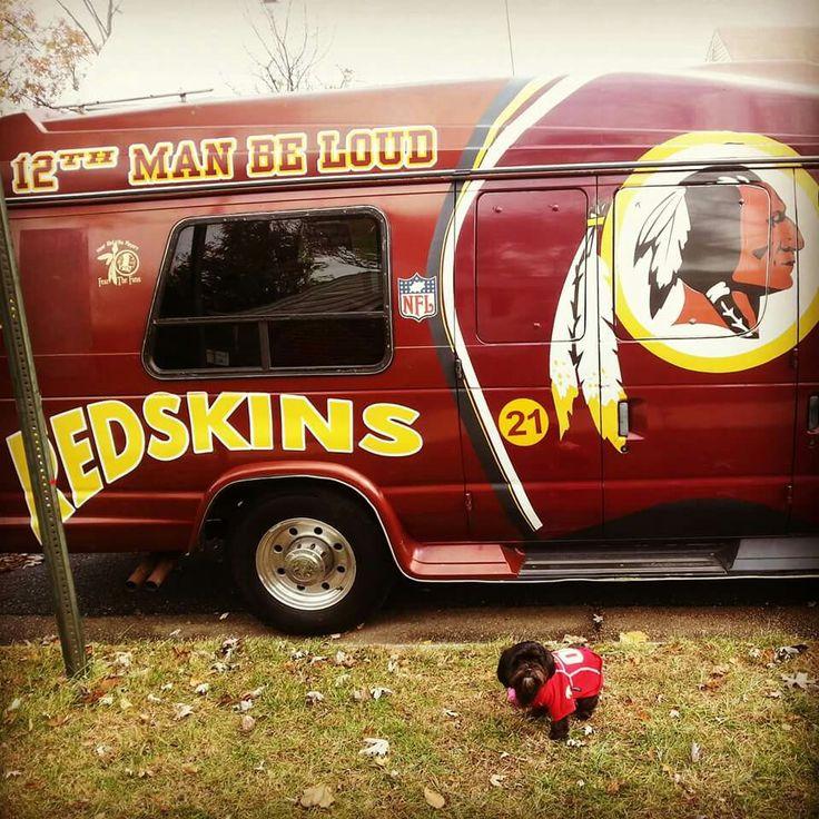 Pretty sure you'll see this #Redskins van heading to FedEx Field this season!