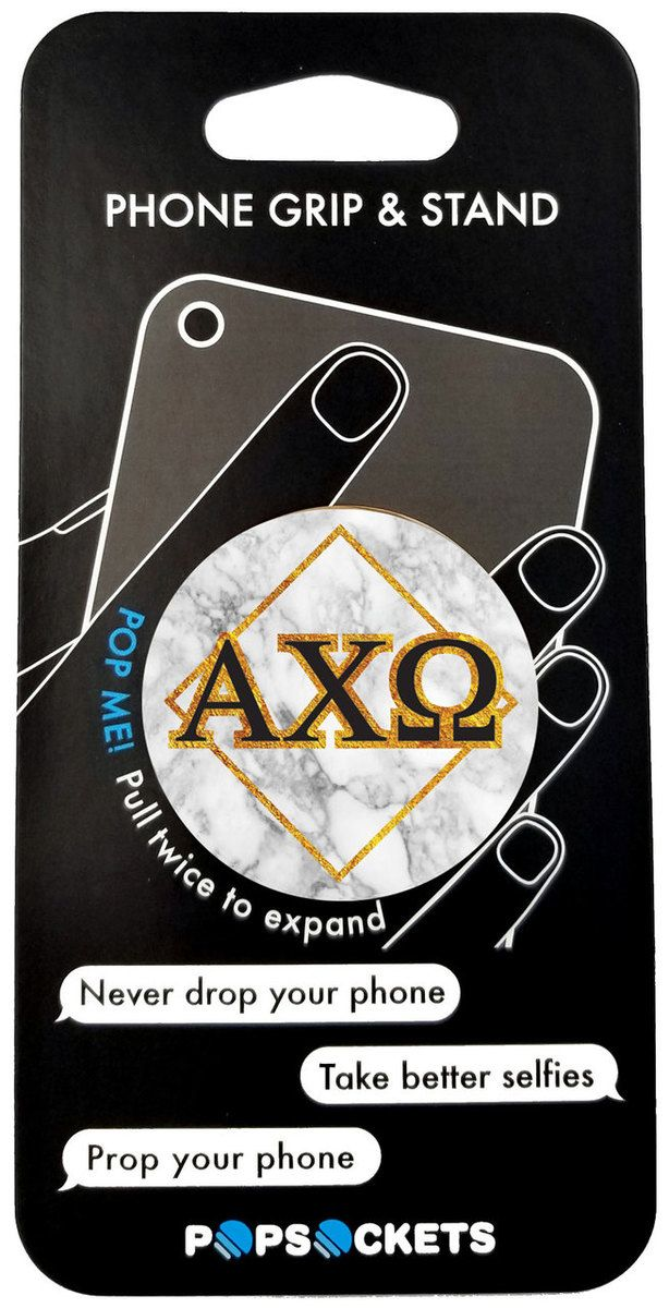 Alpha Chi Omega Sorority Popsocket - Brothers and Sisters' Greek Store