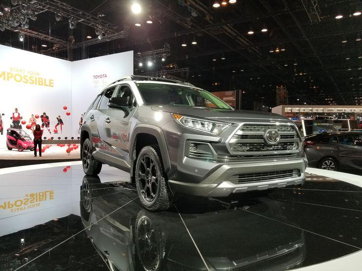 A Buffed Up 2020 Toyota RAV4 Was Built On The Pillars Of A