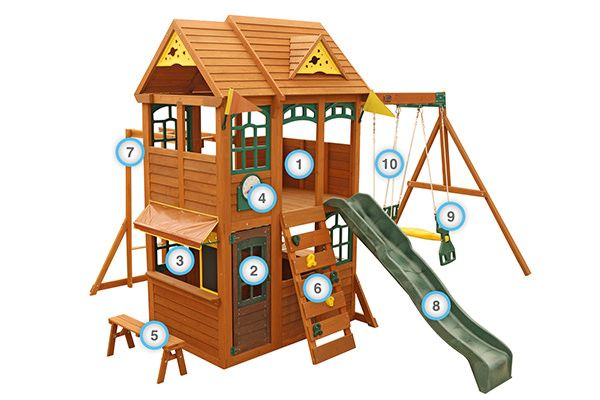 Meadowbrook - Products | Big Backyard Play Set