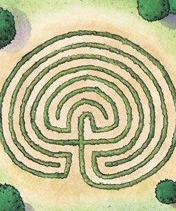 labrynth: Labyrinths Ideas, Gardens Labyrinths, Outdoor Labyrinths, Low Growing Plants, Labyrinths Design, Defin Paths, Gardens Delight, Gardens Design, Gardens Maze