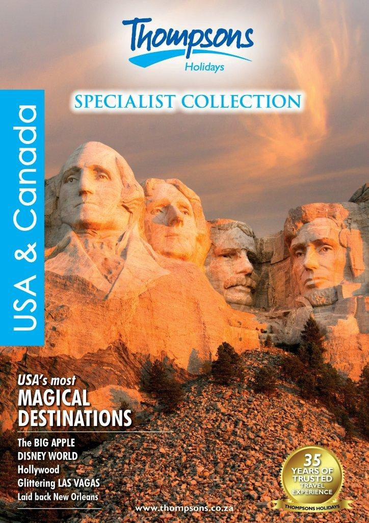 USA & Canada 2013 View online - http://www.thompsons.co.za/collections/USA%20Online%20Brochure_2013/index.html